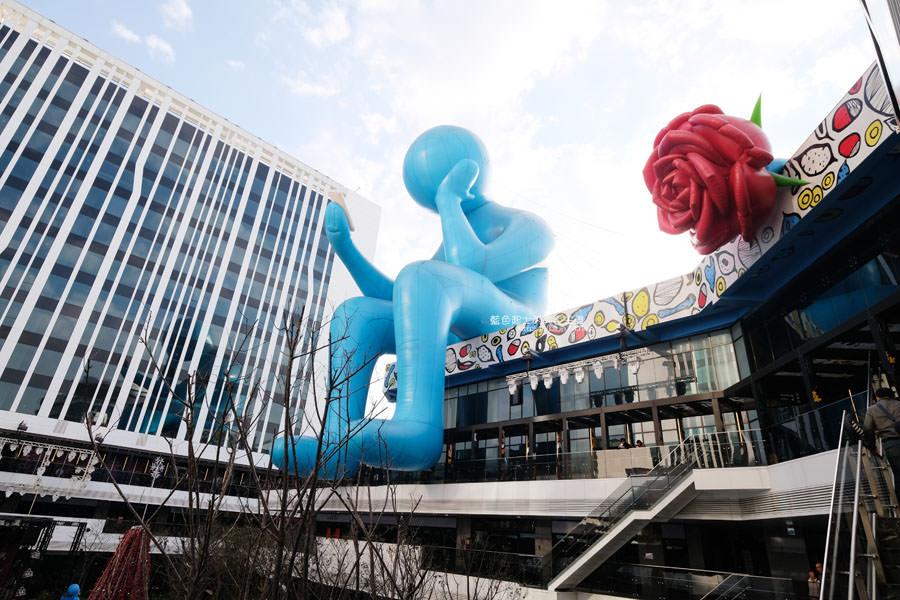 20190127000937 24 - 台中軟體園區Dali Art藝術廣場-玫瑰花海新祕境,絢爛水晶光廊打卡點