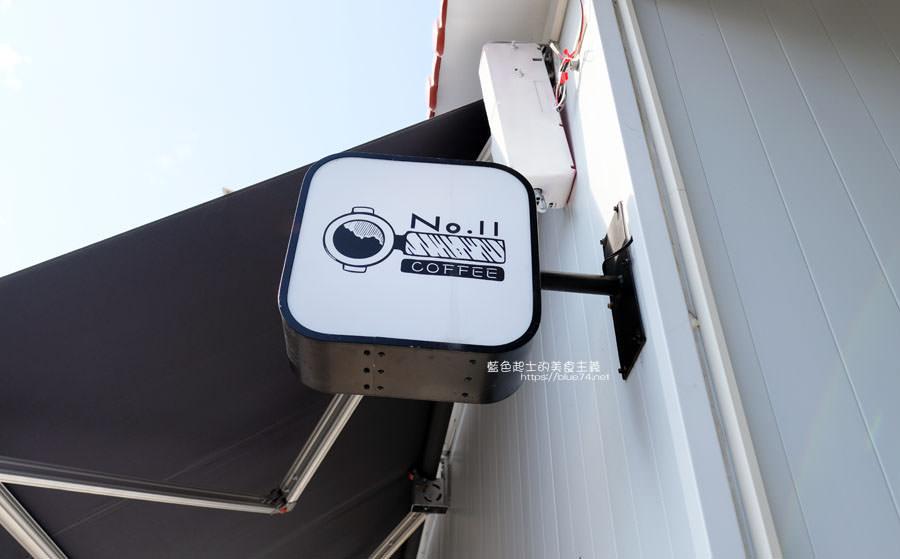 20190131021052 42 - No.11 Coffee-海線外帶平價咖啡,也有內用區,白色系大IG打卡牆