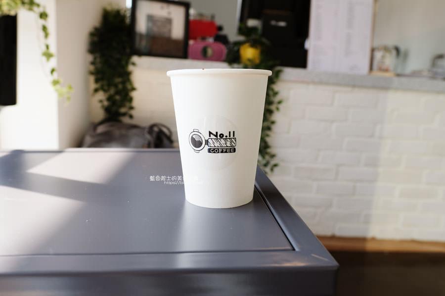 20190131021054 3 - No.11 Coffee-海線外帶平價咖啡,也有內用區,白色系大IG打卡牆