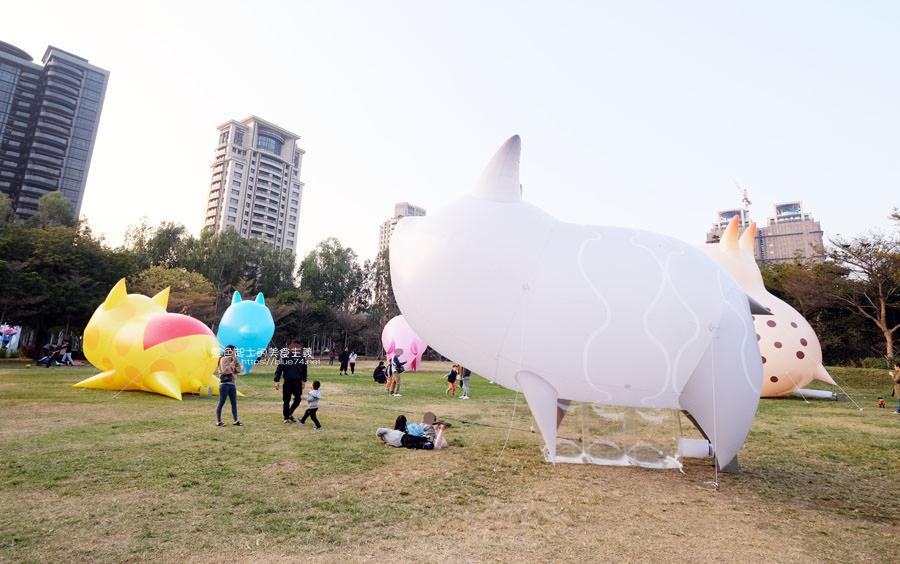 20190210014844 3 - 2019中台灣元宵燈會-新打卡點創意皮克區,還有限量飛天豬小提燈發放時間和晚會活動及交通資訊