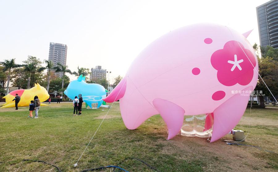 20190210021324 68 - 2019中台灣元宵燈會-新打卡點創意皮克區,還有限量飛天豬小提燈發放時間和晚會活動及交通資訊