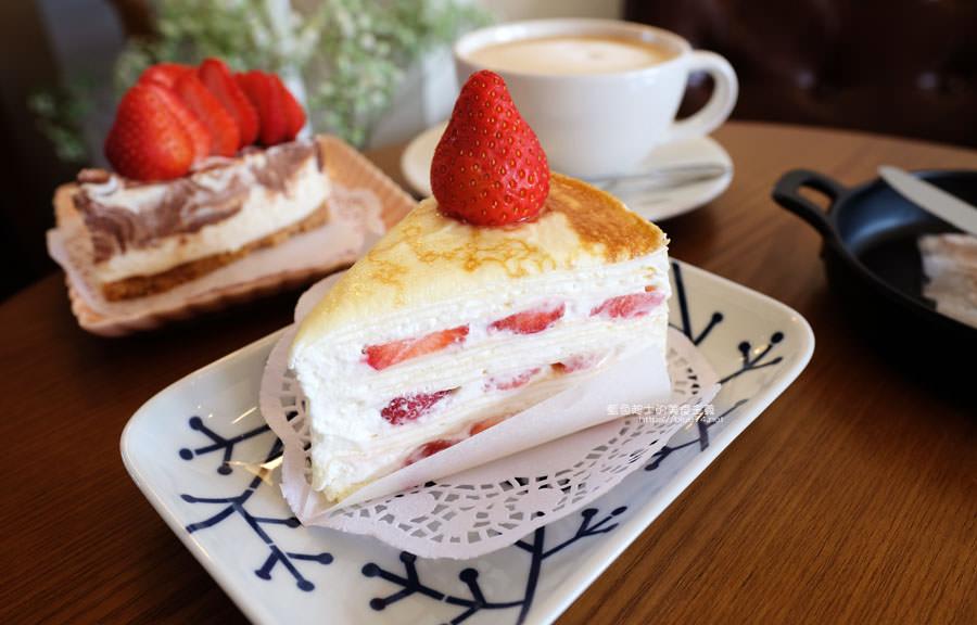 台中梧棲│此時甜點店-海線美食人氣千層蛋糕,想吃早點來,不然就看到粉絲頁公告甜點售完了喔