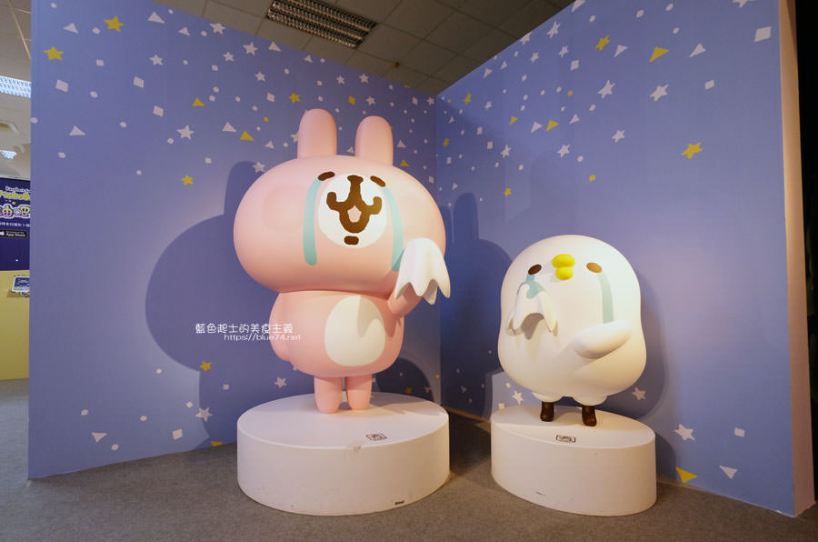 20190213015149 72 - 日本超人氣貼圖粉紅兔兔與P助來台中囉,療癒可愛牛奶粉色系卡娜赫拉首座大型個展