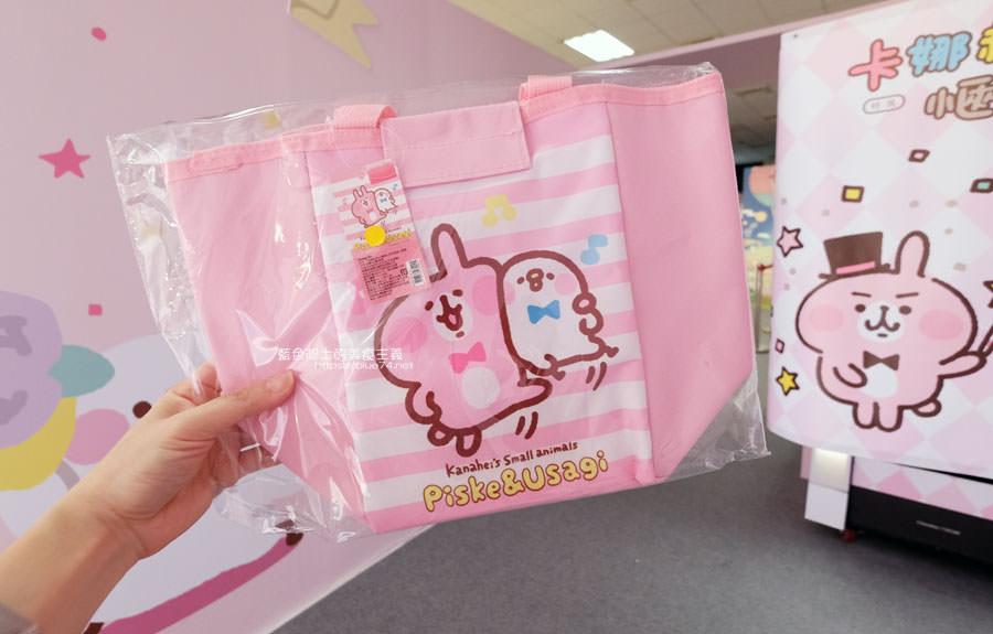 20190213015153 91 - 日本超人氣貼圖粉紅兔兔與P助來台中囉,療癒可愛牛奶粉色系卡娜赫拉首座大型個展