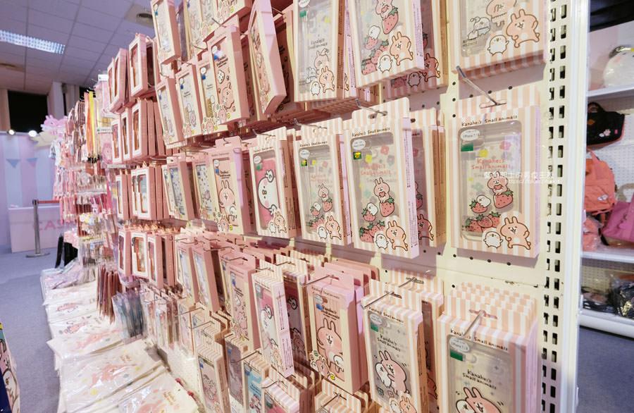 20190213024111 27 - 日本超人氣貼圖粉紅兔兔與P助來台中囉,療癒可愛牛奶粉色系卡娜赫拉首座大型個展