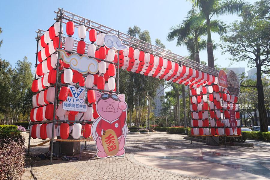 20190213230149 30 - 2019中台灣元宵燈會-新打卡點創意皮克區,還有限量飛天豬小提燈發放時間和晚會活動及交通資訊