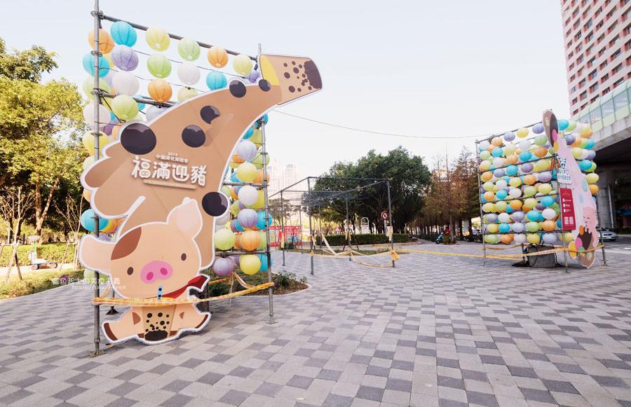 20190213230155 34 - 2019中台灣元宵燈會-新打卡點創意皮克區,還有限量飛天豬小提燈發放時間和晚會活動及交通資訊