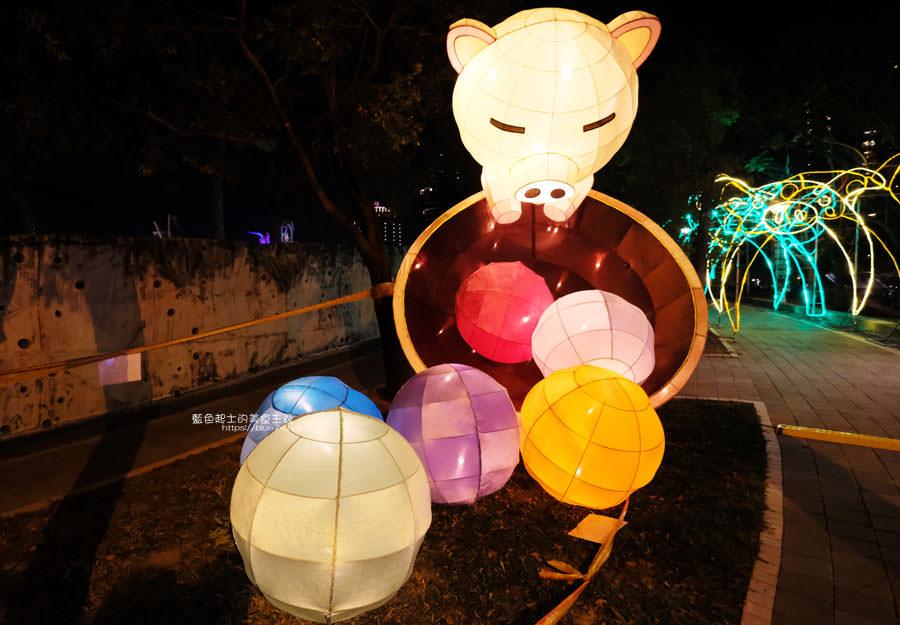 20190213235122 49 - 2019中台灣元宵燈會-新打卡點創意皮克區,還有限量飛天豬小提燈發放時間和晚會活動及交通資訊