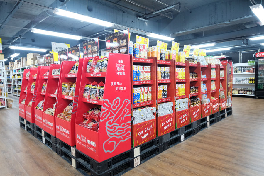 20190223154813 92 - Big King Shopping Center-不用出國就能買到東南亞餅乾、零食、咖啡、調味料,貼心分國別擺放
