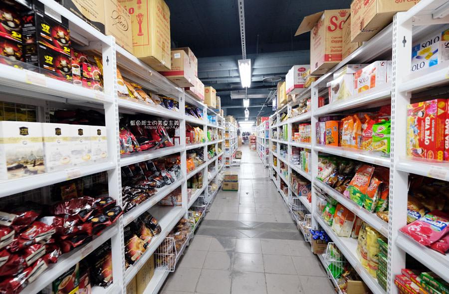 20190223154829 5 - Big King Shopping Center-不用出國就能買到東南亞餅乾、零食、咖啡、調味料,貼心分國別擺放