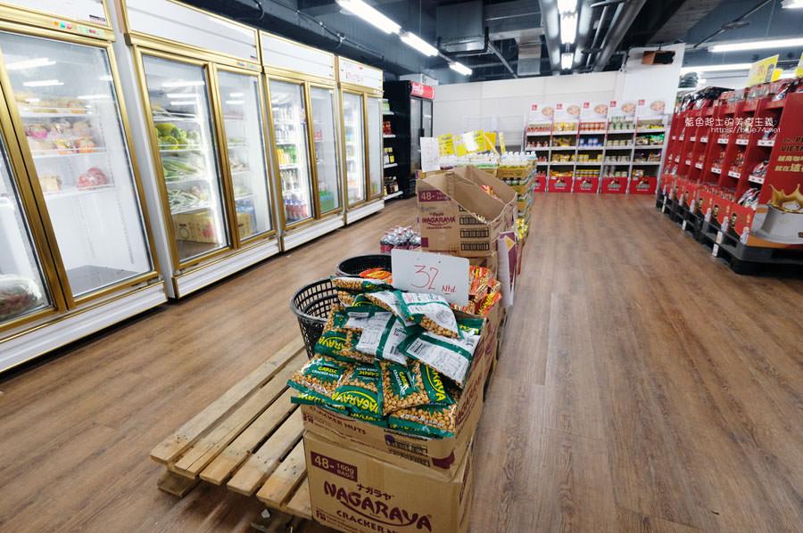 20190223154831 26 - Big King Shopping Center-不用出國就能買到東南亞餅乾、零食、咖啡、調味料,貼心分國別擺放