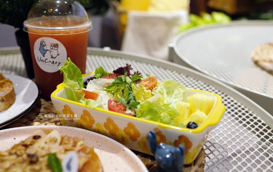 20190331010919 21 - UnCrazy這裏勿瘋-霧峰人氣韓系網美打卡早午餐店,柔和藍色舒適空間