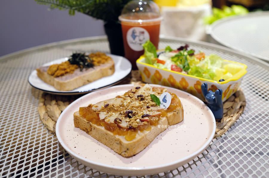 20190331010920 84 - UnCrazy這裏勿瘋-霧峰人氣韓系網美打卡早午餐店,柔和藍色舒適空間