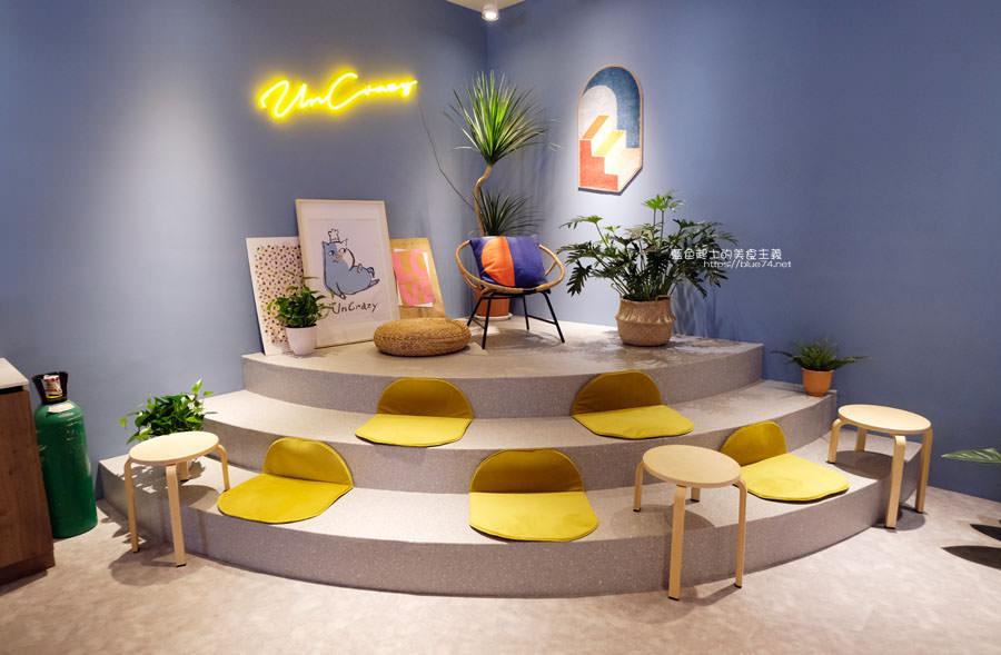 20190331010921 29 - UnCrazy這裏勿瘋-霧峰人氣韓系網美打卡早午餐店,柔和藍色舒適空間