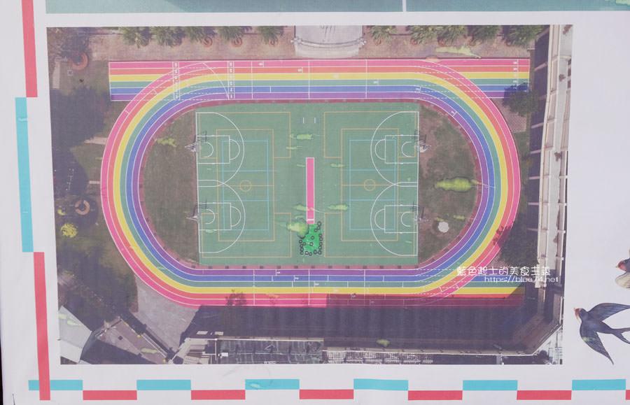 20190401003021 81 - 高美國小-海線最美的跑道,繽紛彩虹跑道IG最新打卡點