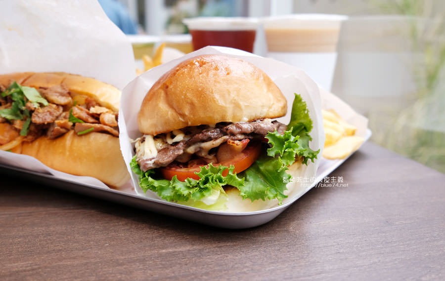 20190503111408 1 - 早伴漢堡Zaoban Burger-早伴早餐推出速食新風格,台中美術館商圈美食推薦