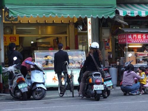 台中西區│科博館水煎包-排隊人氣店家,下午點心好選擇