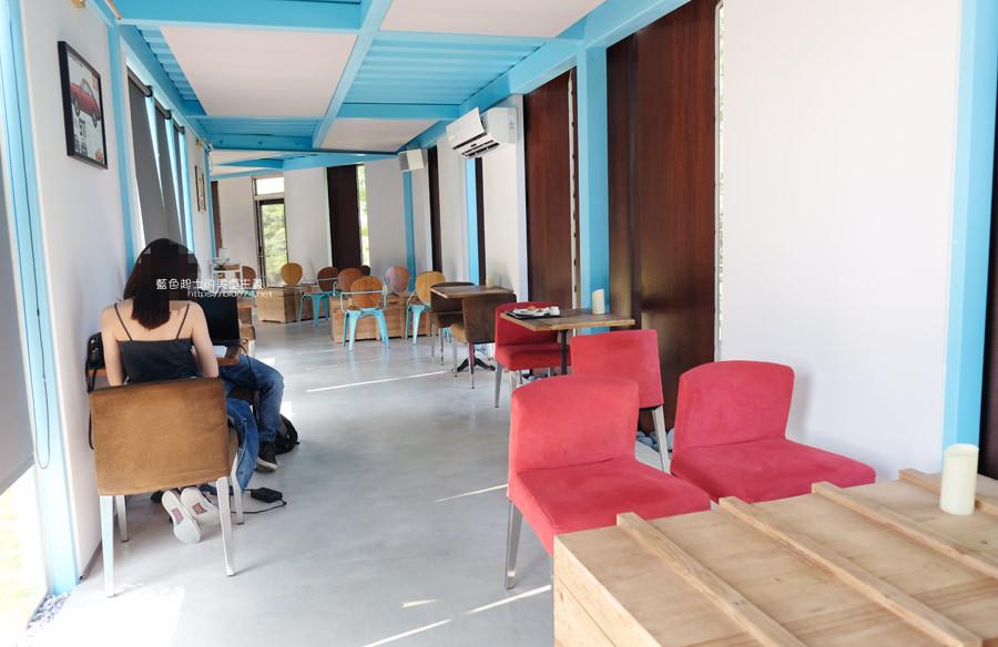 20190601010856 62 - 布魯諾咖啡│座落在藍色公路旁的落羽松景觀餐廳,二樓可欣賞夕陽與夜景