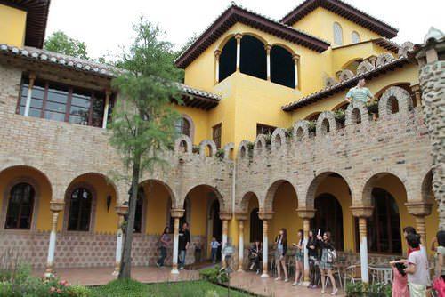 雲林斗六│摩爾花園-好拍西班牙城堡花園,好童話建築