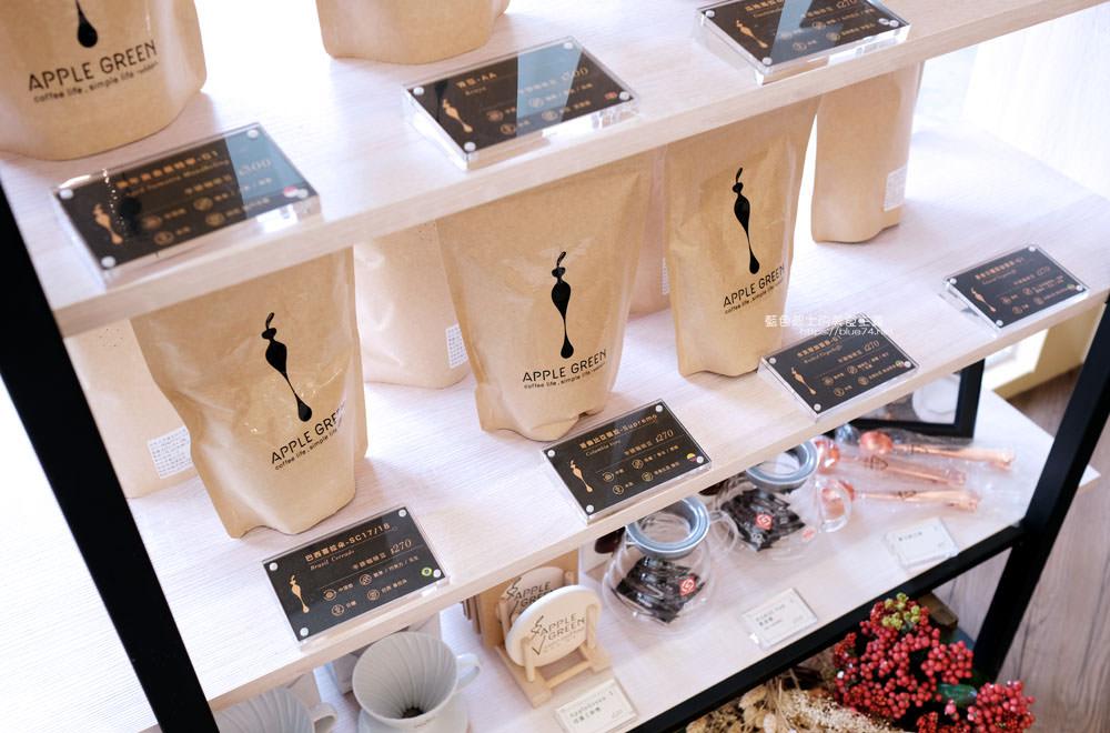 20190922012934 87 - 蘋果綠咖啡台中黎明門市-台中首間蘋果綠咖啡,白色系明亮空間,多那之新品牌