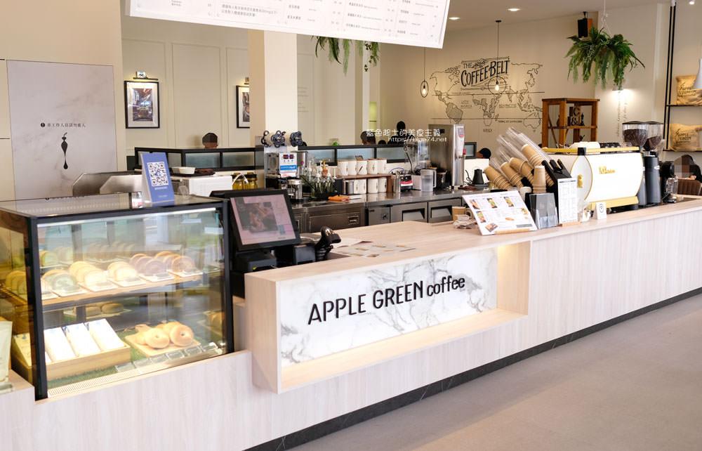 20190922012935 32 - 蘋果綠咖啡台中黎明門市-台中首間蘋果綠咖啡,白色系明亮空間,多那之新品牌