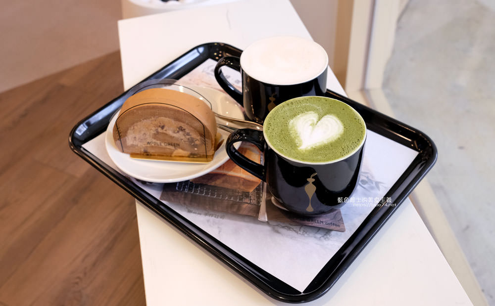 20190922012953 60 - 蘋果綠咖啡台中黎明門市-台中首間蘋果綠咖啡,白色系明亮空間,多那之新品牌