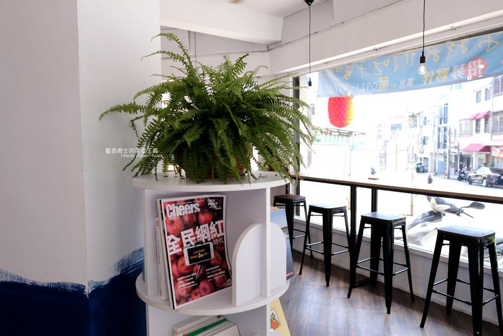 20191002013144 29 - 浪浀│對早餐執著十年的老闆在東海藝術街開店了,療癒的藍色豆腐鯊陪你吃早午餐