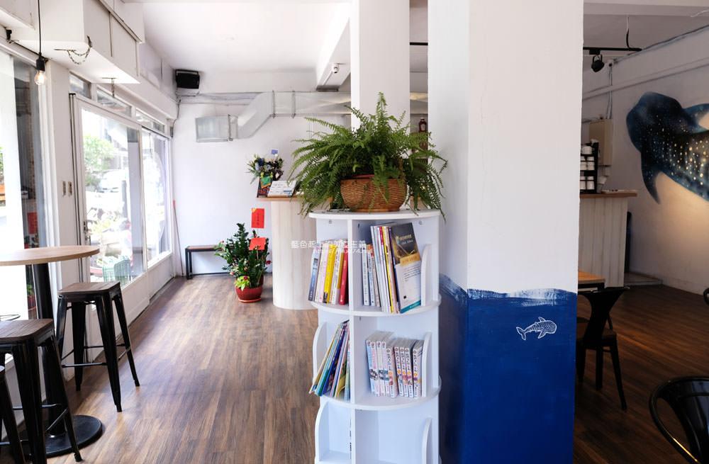 20191002013145 83 - 浪浀│對早餐執著十年的老闆在東海藝術街開店了,療癒的藍色豆腐鯊陪你吃早午餐