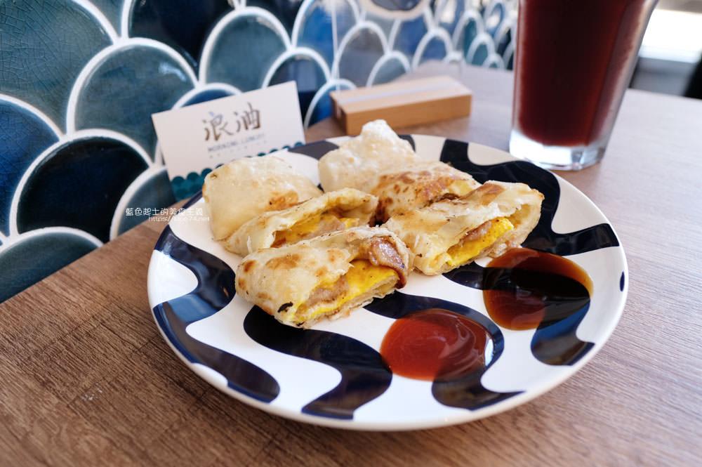 20191002013148 17 - 浪浀│對早餐執著十年的老闆在東海藝術街開店了,療癒的藍色豆腐鯊陪你吃早午餐
