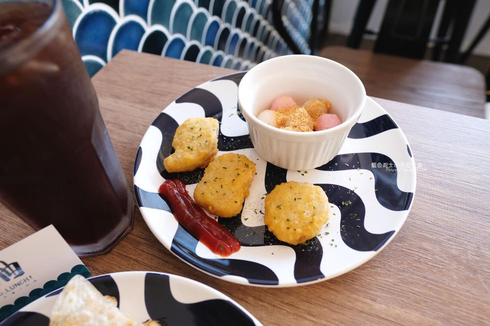 20191002013148 5 - 浪浀│對早餐執著十年的老闆在東海藝術街開店了,療癒的藍色豆腐鯊陪你吃早午餐