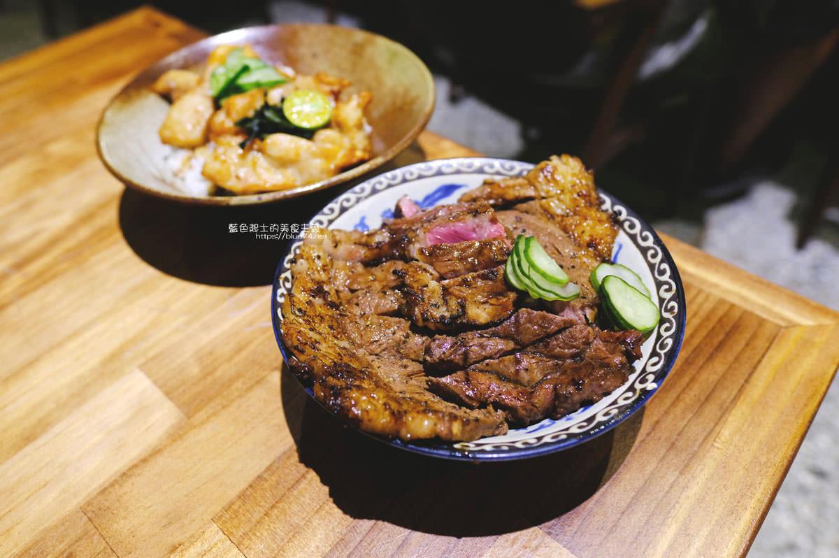 台中西屯│秘一日牛排飯-低調的外觀沒有扛棒,主打牛排飯,也有烤物選擇,生意很好,建議先訂位