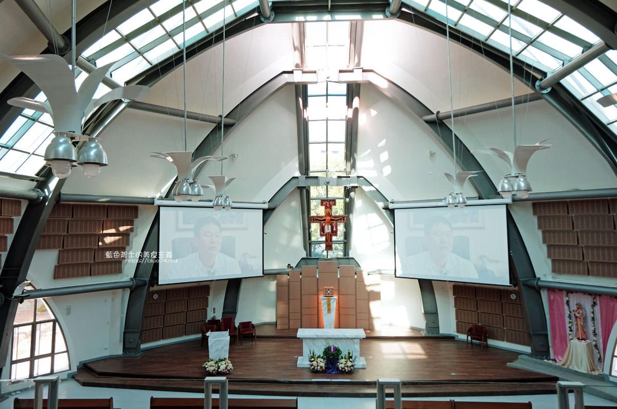 20191213010240 14 - 主顧聖母堂│耗費9千萬,海線最新打卡點,靜宜大學新地標,唯美有設計感