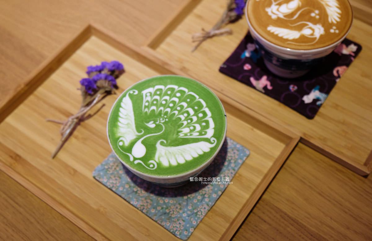 20200111103821 56 - Yasumi cafe│台中最強拉花,孔雀和金魚及蝴蝶躍入咖啡中