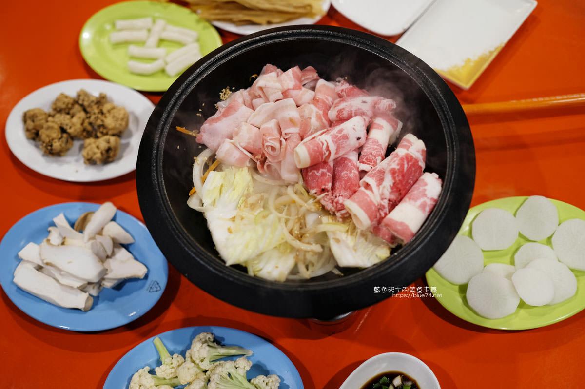 台中西區│食藝石頭火鍋-復古風自助式傳統火鍋,桌邊服務湯底爆香