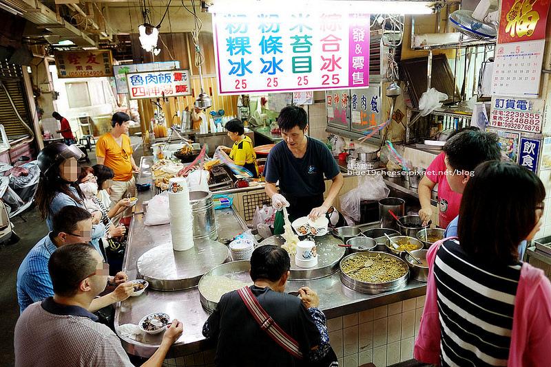 【嘉義東區】東市場粉條冰-六十年老店,便宜料多好划算,米苔目粉條粉粿綜合冰,還有冬季限量甜米糕,嘉義必吃,食尚玩家推薦