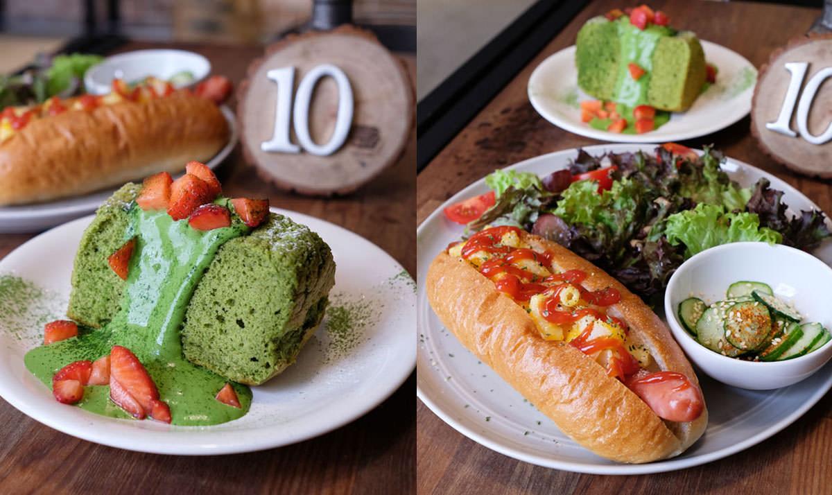 台中北區│HAUSINC CAFE-台灣最棒的25間咖啡廳之一,科博館商圈美食,抓住草莓季尾巴來份戚風蛋糕