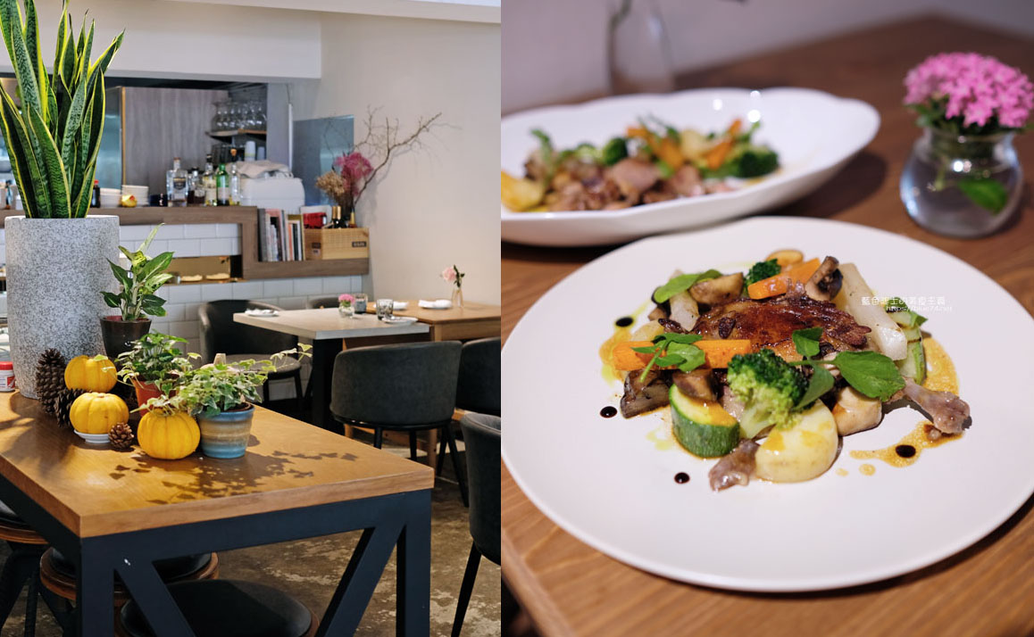 台中北區│知味滋味-利用在地有機食材之創意餐點,呈現出細膩美味
