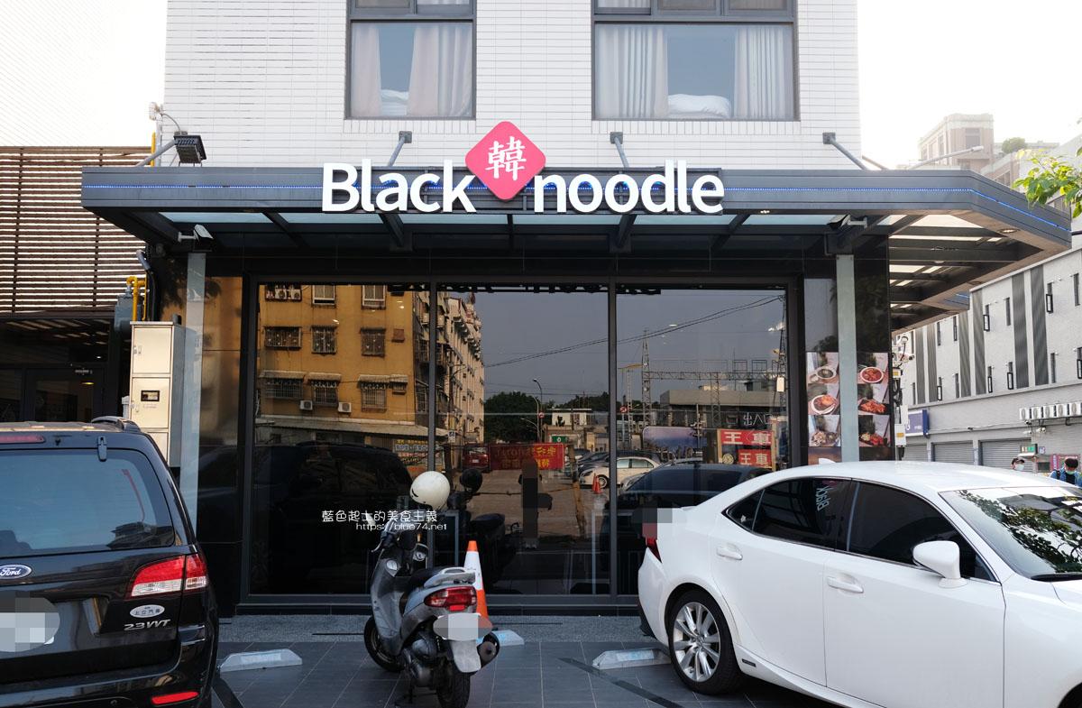 台中西屯│Black韓noodle-韓國人來開的炸醬麵&炒碼麵專賣店,原台南西門路店