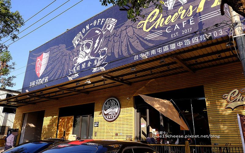 台中南屯│騎士咖啡-咖啡輕食,重機藝術塗鴉彩繪,中古零件交易買賣,開關倉庫隔壁