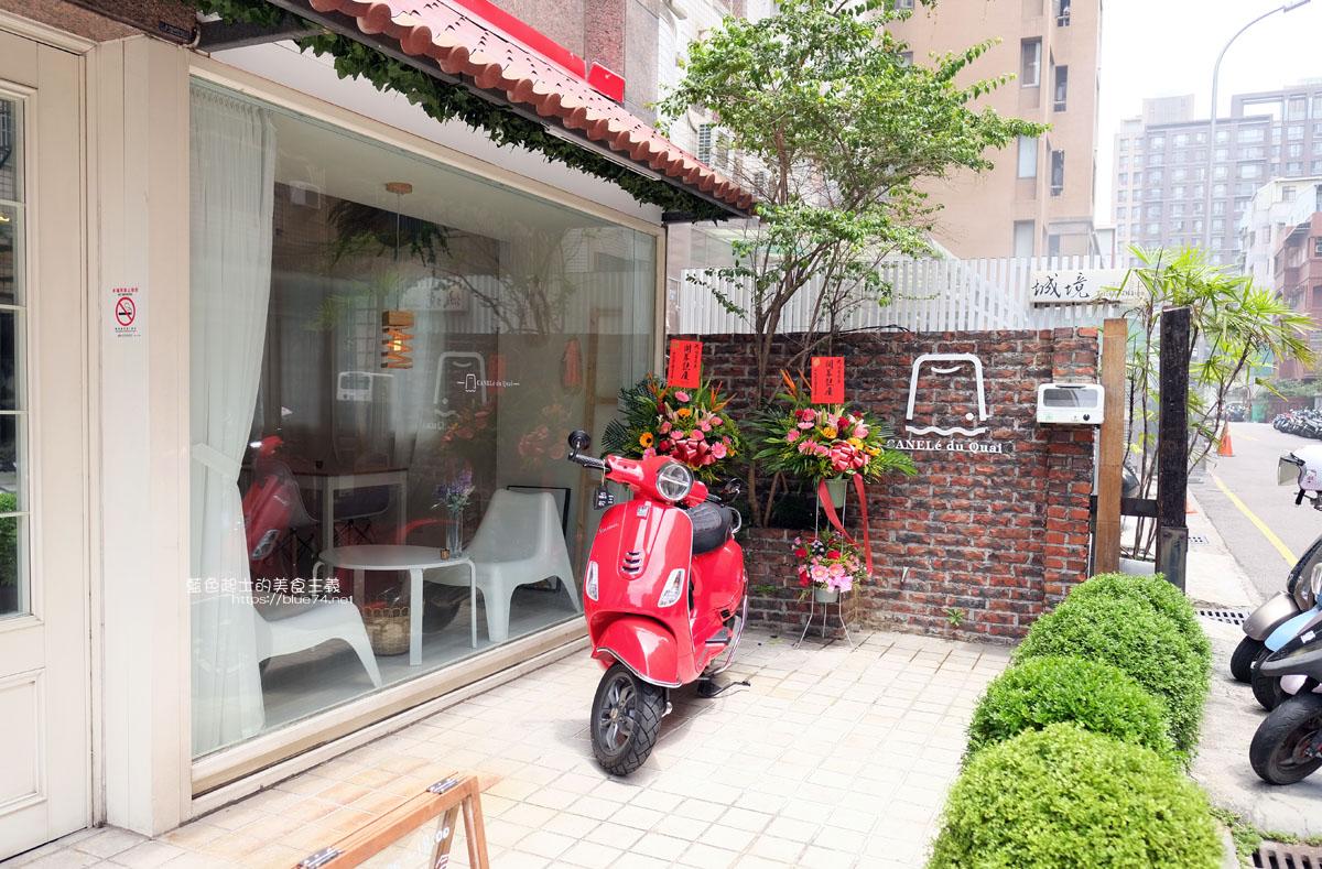 台中南屯│烙角-可麗露廚房結合手作輕食料理,溫馨的用餐空間