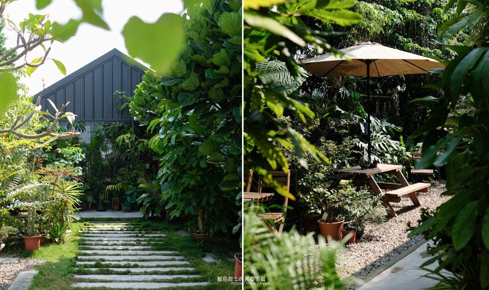 台中新社│右之界-被綠意包圍的森林小屋,享受與植物們的午茶時光