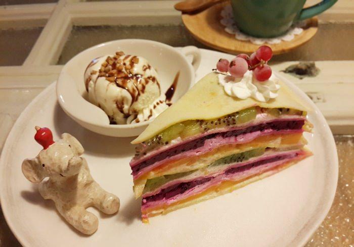 【食記】適合女孩兒聚會的敲敲咖啡KNOCK KAFE.歐式餐點&精緻甜點 @國父紀念館站