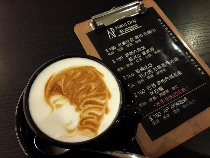 【咖啡】Artista Perfetto(AP咖啡).巧遇冠軍咖啡拉花@ 市政府站