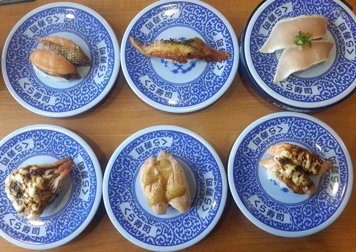 【食記】藏壽司Kura Sushi ( くら寿司).來自日本的平價迴轉壽司 @松江南京站