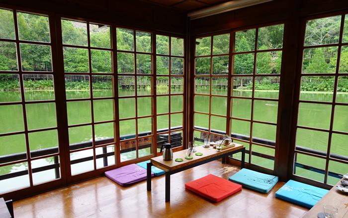 【南投.美食】- 50年貯木池畔的日式茶館.Steam隱茶 @車埕車站