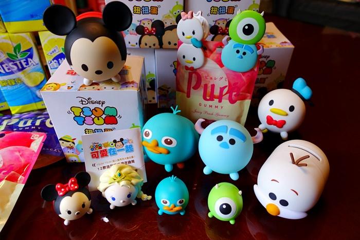 【超商集點】全家 Tsum Tsum可愛在一起.迪士尼/皮克斯扭蛋文具超可愛.忍不住淪陷啦~ 快速集點小撇步