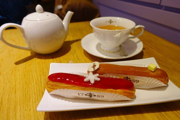 【食記】1789 Café.法國主廚坐鎮的閃電泡芙éclair專賣店 @忠孝新生站