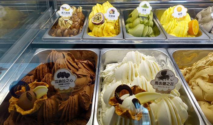 【南投.埔里】- 18度c巧克力工房.享受冬天吃冰的幸福滋味