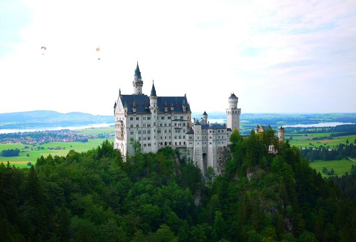 【11 德南.童話國度 】- 迪士尼夢幻城堡的靈感來源.新天鵝堡(Schloss Neufchwanstein)
