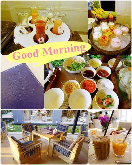 【15曼谷華欣.度假趣】- DAY3 Rest Detail Hotel.滿滿異國風味.現做泰式美食~好悠哉 (早餐篇)